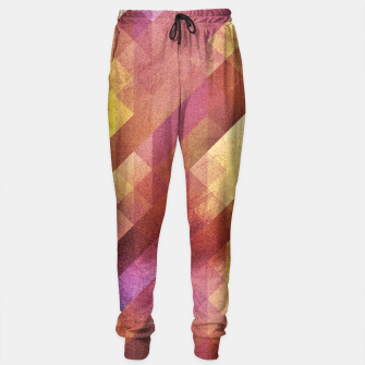 Thumbnail image of Fall pattern 2  Sweatpants, Live Heroes