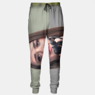 Thumbnail image of Maisie Williams Sweatpants, Live Heroes