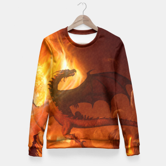 Dragon's world Fitted Waist Sweater thumbnail image