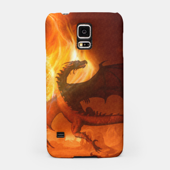 Thumbnail image of Dragon's world Samsung Case, Live Heroes