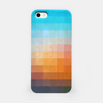 Miniatur Gradient Blue and Red iPhone Case, Live Heroes