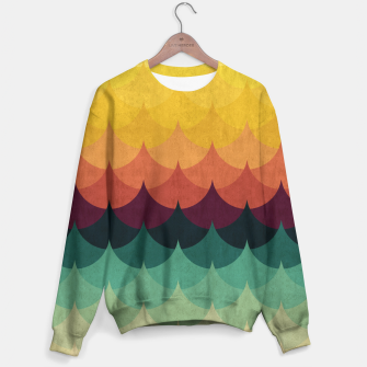 Waves in Gradient Sweater obraz miniatury