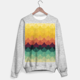 Waves in Gradient Sweater regular obraz miniatury
