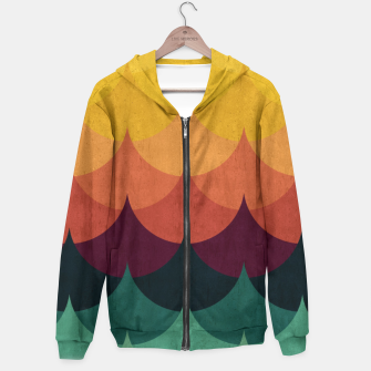 Waves in Gradient Hoodie obraz miniatury
