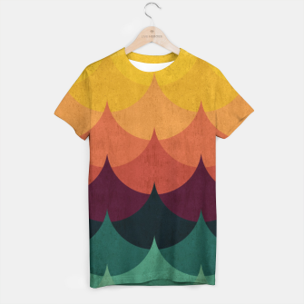 Waves in Gradient T-shirt obraz miniatury