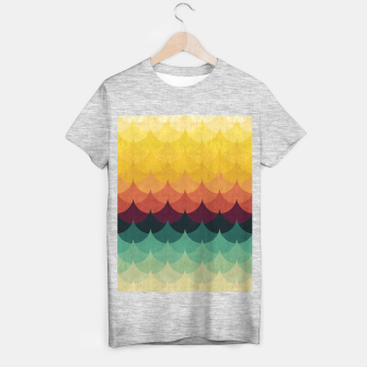Waves in Gradient T-shirt regular obraz miniatury