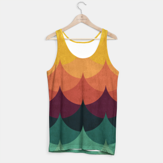 Waves in Gradient Tank Top obraz miniatury