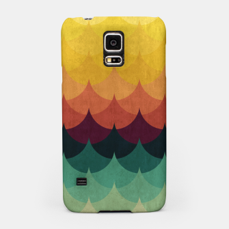 Waves in Gradient Samsung Case obraz miniatury