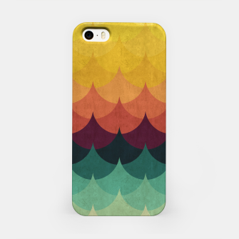 Waves in Gradient iPhone Case obraz miniatury
