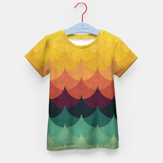 Waves in Gradient Kid's T-shirt obraz miniatury