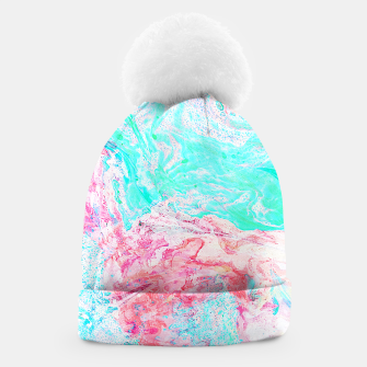 Thumbnail image of Paper Marble Beanie, Live Heroes