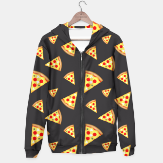 Cool and fun pizza slices pattern Hoodie thumbnail image