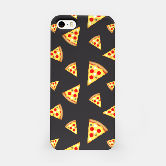 Cool and fun pizza slices pattern iPhone Case thumbnail image
