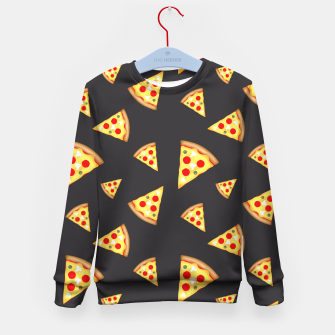 Cool and fun pizza slices pattern Kid's Sweater thumbnail image