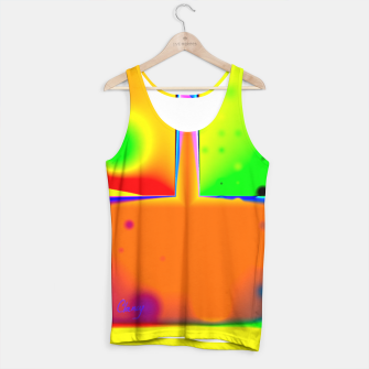 Thumbnail image of Rainbow Step Tank Top, Live Heroes