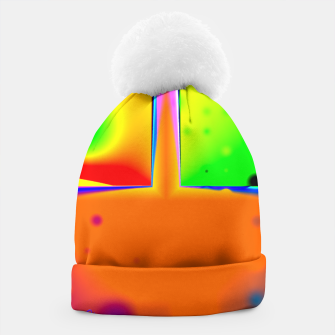 Thumbnail image of Rainbow Step Beanie, Live Heroes