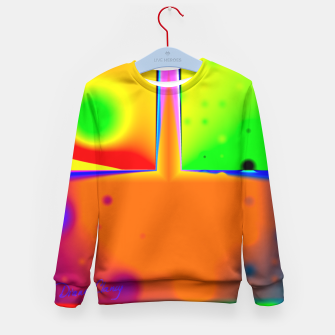 Thumbnail image of Rainbow Step Kid's Sweater, Live Heroes