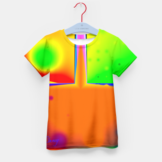 Thumbnail image of Rainbow Step Kid's T-shirt, Live Heroes