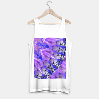 Thumbnail image of Abstract Plum Ice Crystal Palace Lattice Lace Mandala Tank Top regular, Live Heroes
