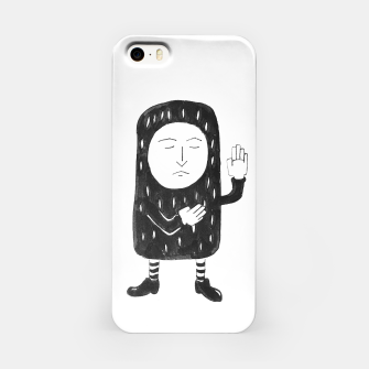 Thumbnail image of Small Pea Nut iPhone Case, Live Heroes