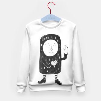 Thumbnail image of Small Pea Nut Kid's Sweater, Live Heroes