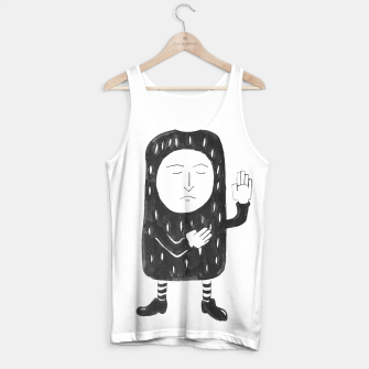 Thumbnail image of Small Pea Nut Tank Top, Live Heroes