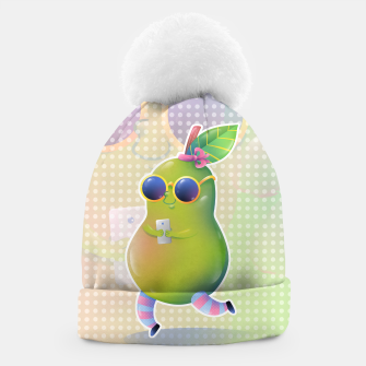 Thumbnail image of Social Media Pear Bonnet, Live Heroes