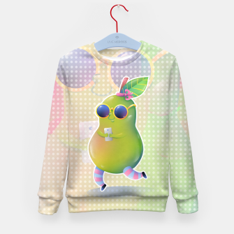 Thumbnail image of Social Media Pear Enfantin Sweat-shirt, Live Heroes