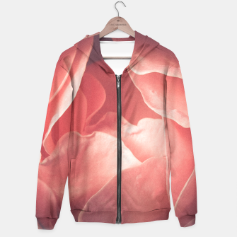 Pastel pink rose flower blossom Hoodie thumbnail image