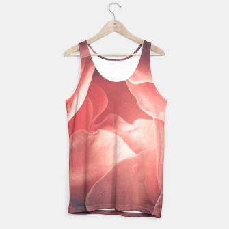 Pastel pink rose flower blossom Tank Top thumbnail image