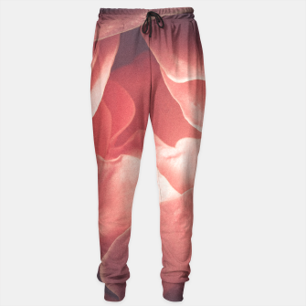 Pastel pink rose flower blossom Sweatpants thumbnail image