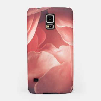 Pastel pink rose flower blossom Samsung Case thumbnail image