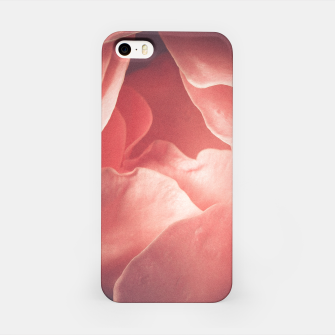 Pastel pink rose flower blossom iPhone Case thumbnail image