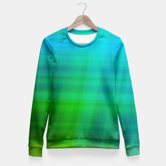 Miniaturka bLUEGREENSTRIPES Fitted Waist Sweater, Live Heroes