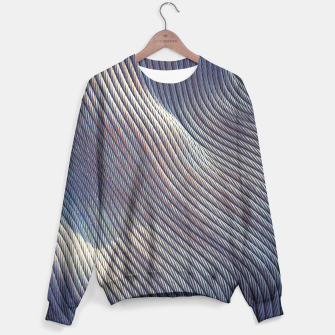 Thumbnail image of Fabric Distortion Sweater, Live Heroes
