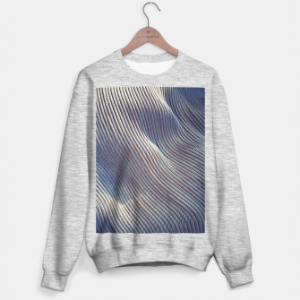 Thumbnail image of Fabric Distortion Sweater regular, Live Heroes