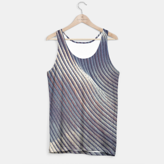 Thumbnail image of Fabric Distortion Tank Top, Live Heroes