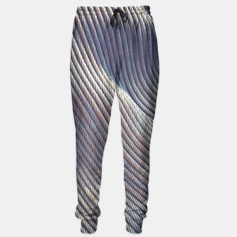 Thumbnail image of Fabric Distortion Sweatpants, Live Heroes
