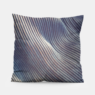 Thumbnail image of Fabric Distortion Pillow, Live Heroes