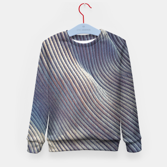 Thumbnail image of Fabric Distortion Kid's Sweater, Live Heroes