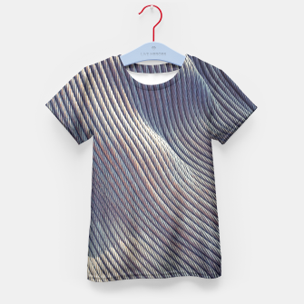 Thumbnail image of Fabric Distortion Kid's T-shirt, Live Heroes
