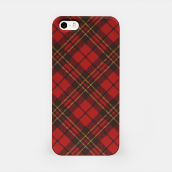 Thumbnail image of Adorable Red Christmas tartan pattern iPhone Case, Live Heroes