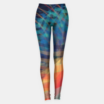 Turquoise Eye Leggings obraz miniatury