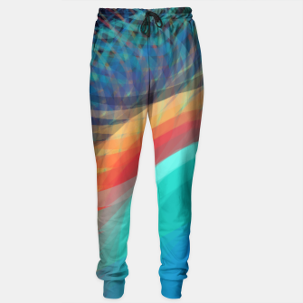 Turquoise Eye Sweatpants obraz miniatury