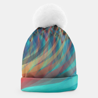 Thumbnail image of Turquoise Eye Beanie, Live Heroes