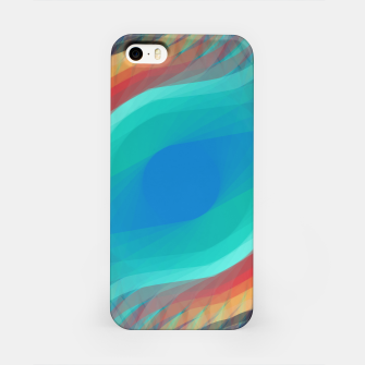 Turquoise Eye iPhone Case obraz miniatury