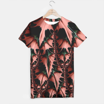 Thumbnail image of Abstract leaves T-Shirt, Live Heroes