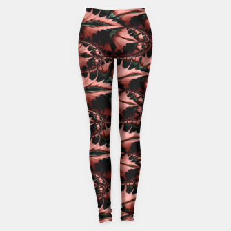 Thumbnail image of Abstract leaves Leggings, Live Heroes