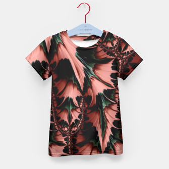Thumbnail image of Abstract leaves T-Shirt für Kinder, Live Heroes