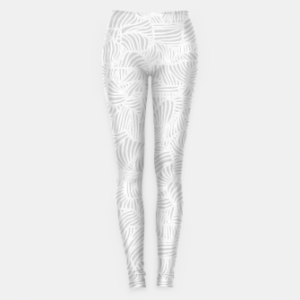 Thumbnail image of white Leggings, Live Heroes